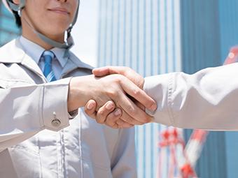 行政との連携のイメージ画像